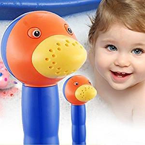 Get Quotations · Dipshop Cartoon Duck Creative Bathroom Handheld Shower Head  For Kids Baby
