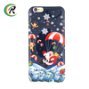 New arrival Christmas Phone Case transparent case for iPhone colourful cellphone case shell