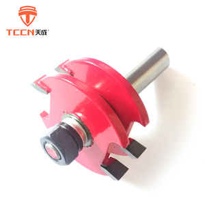 TCCN China New Hot Selling Products Red Or Customized Tungsten Carbide Router Bits Set For Wood