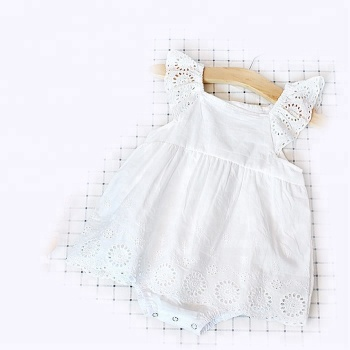 d7f6a6fa1f6d Supplier Kids Clothing Plain White Baby Rompers Wholesale Malaysia ...