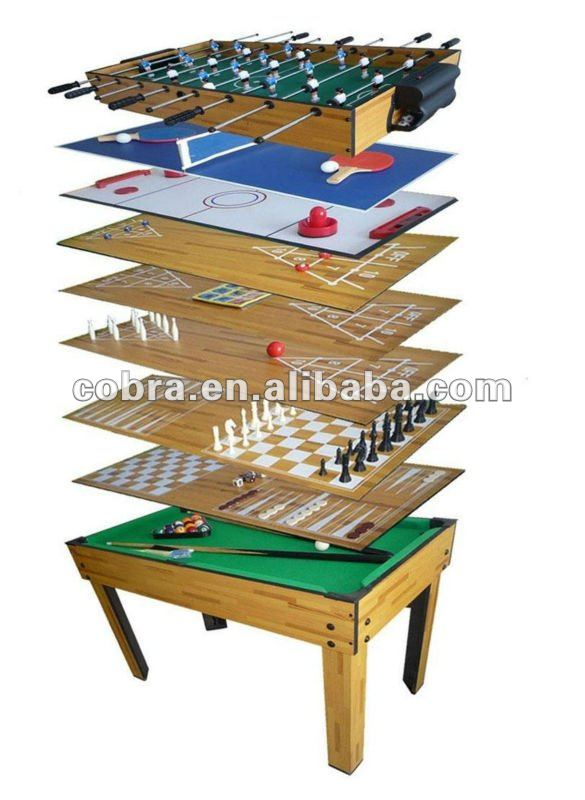 Captivating Combination 10 In 1 Multi Game Table For Kids   Buy 10 In 1 Dribbling Game  Table,Different Top Game Table,Kids Or Adult 10 In 1 Multi Game Table  Product On ...