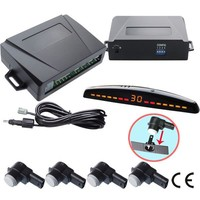 Front Rear Multifunctional Car Reversing Parking Sensors System