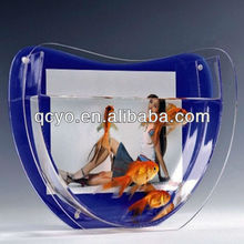 U shape coffee table fish tank stand