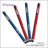 Wholesale blue ink brands cross roller ball pen touch pen