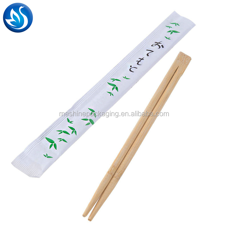 Chinese custom Disposable Twin Bamboo Chopsticks bulk wholesale