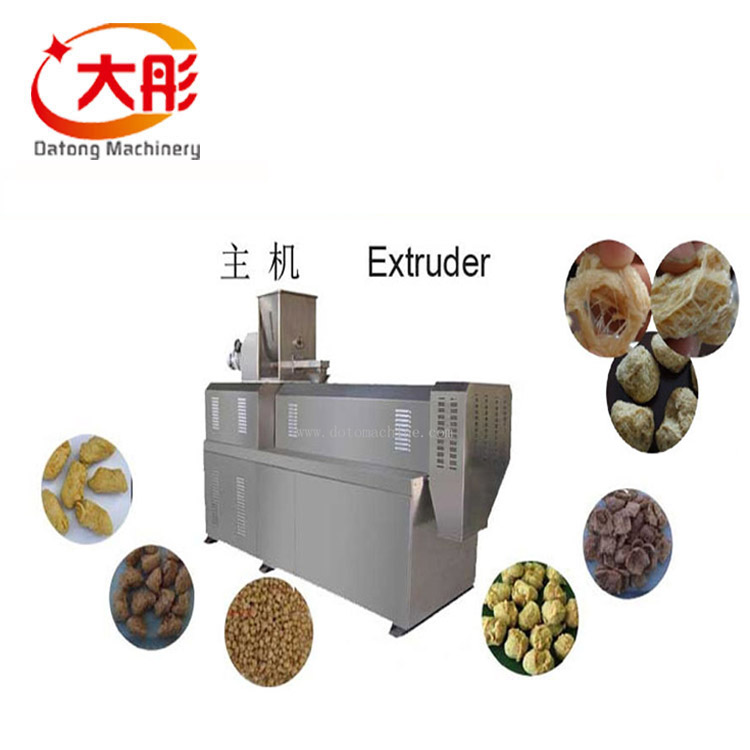 Vegetarian Soya Protein Nugget Making Machine for Soybean Pellets