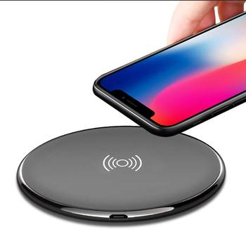 Mobile phone fast smart wireless charger for iPhone X/Samsung Edge