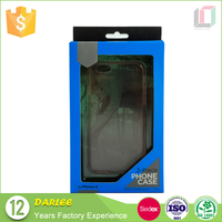 China cheapest empty hanging recyclable packaging box for cell phone case