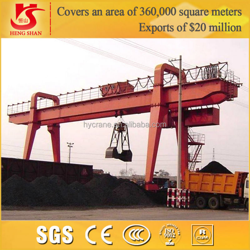 MZ model double girder rail mounted gantry cranes