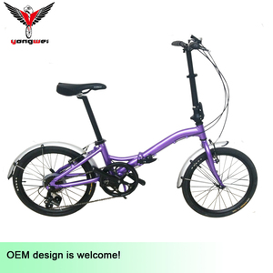 20inch popular 6061 alloy folding bike mini bike easy to carry for USA market