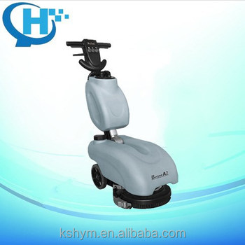 Shoping Mall And Home Use Walk Behind Battery Power Floor Scrubber
