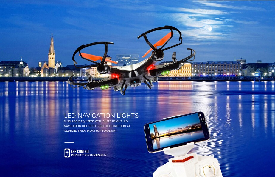 Wholesaler!! Helicute H806 / H806C / H806W 2.4G RC Drone Remote Control Helicopter WIFI 0.3MP HD Camera RC Dron