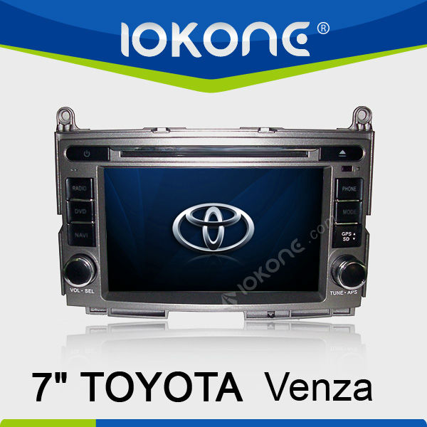 In Cash Car DVD GPS for Toyota Venza
