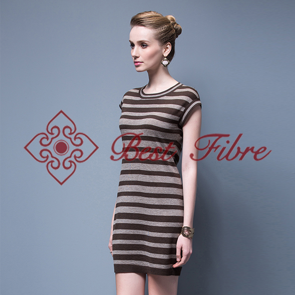 One-piece Skirts For Summer Ladies Fashion Striped Skirt Women Casual Dresses