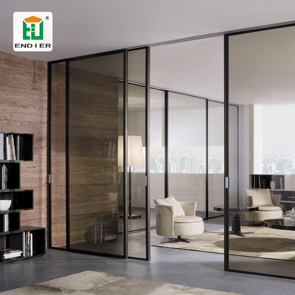 Aluminum Frame Doors Large Sliding Door