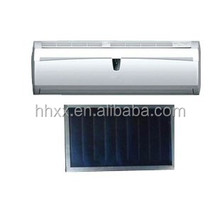 India markets Solar water heater air conditioner hybrid vacuum tube energy saving air conditioner
