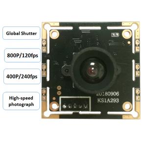 1 Megapixel global exposure black and white camera module /120 frames  high-speed snapshot industrial detection