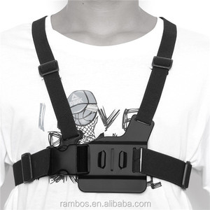 Buckle Camera Chest Strap Belt Adjustable Harness Backpack Strap for Gopro Hero 3+ 3 2 1 Camera