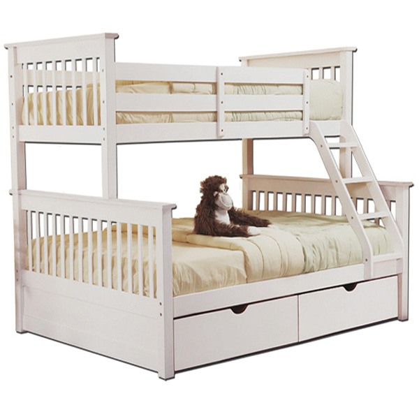 Solid Wood Bunk Beds Pine Bed With