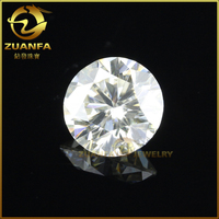 jewelry making loose diamond d color 0.5 ct perfect colored moissanite
