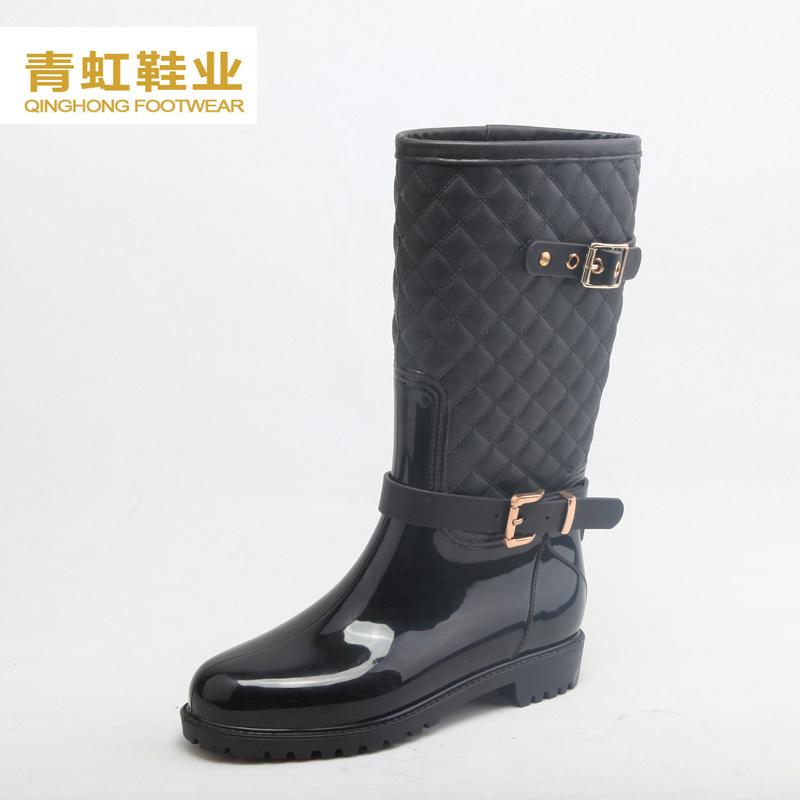 China Supplier Fashion Women Rain Boots Wholesale Women Casual ...
