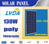 130w poly solar panel solar panel system in Pakistan market yiwu factory directly sale for hot selling 1480*670*35mm