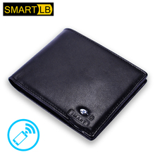 SMARTLB 2017 New style smart ultra thin wallet men