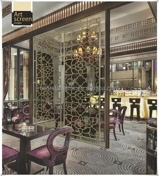 Wholes Diy Decorative Laser Cut Metal Screens Wall Panels For Living Rooms Kallax Room Divider