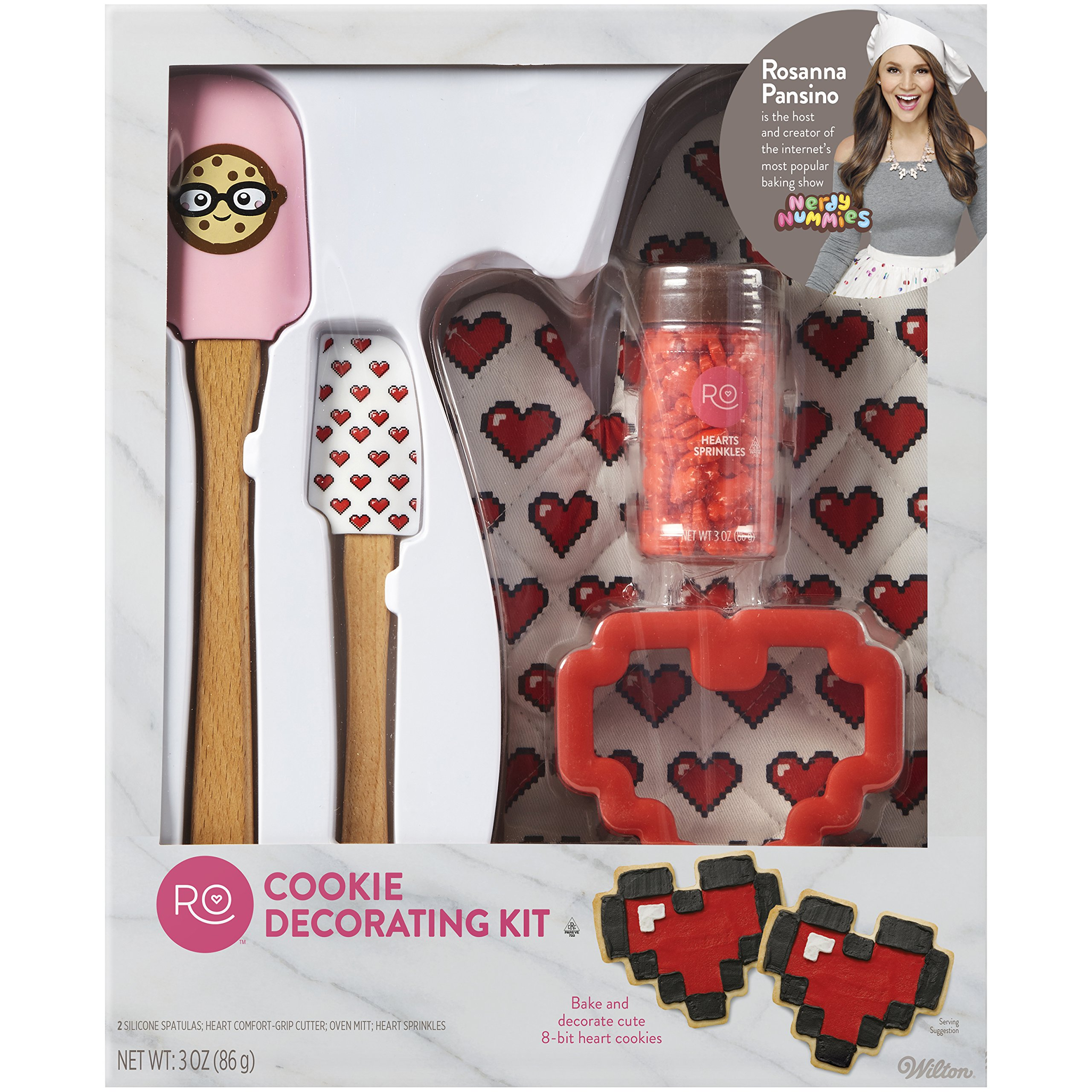 ROSANNA PANSINO by Wilton Cookie Decorating Kit, 5-Piece - Cookie Decorating Supplies