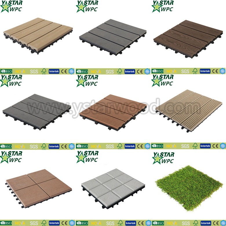 Easily Assembled Feature Interlocking Decking Tiles Buy