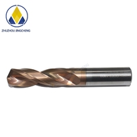 general-purpose new coating external cooling solid carbide twist drills