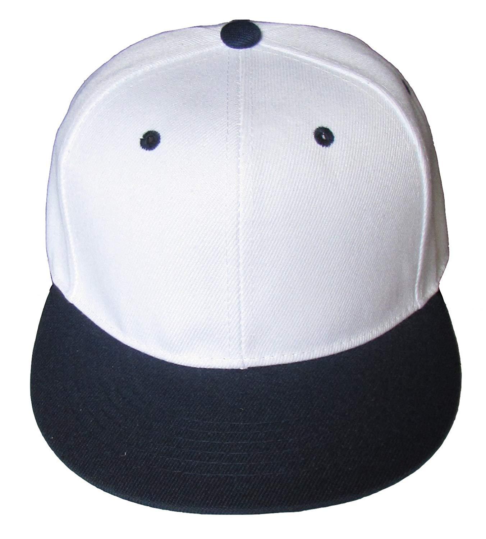 8126bdda Cheap Plain Black And White Snapback, find Plain Black And White ...