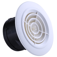 Round Plastic Air Vent For Air Conditioning Ventilation System