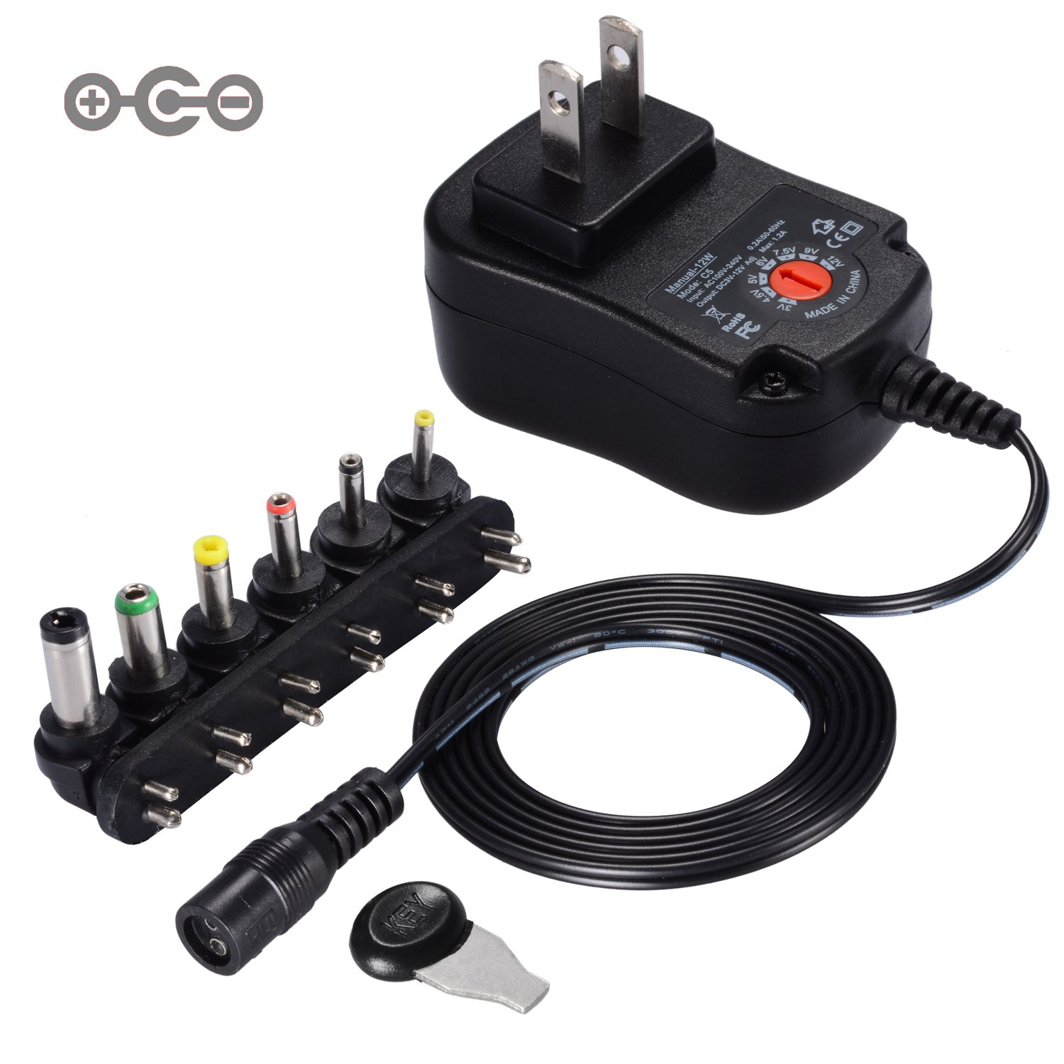 Cheap 6v Dc 350ma Ac Adapter Find Deals On Low Power Negative Car Supply Get Quotations Version Soulbay 12w Universal Charger Switching With