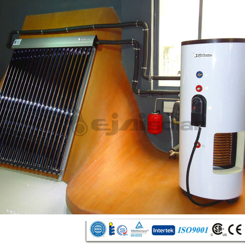 Solar Water Heater with Big Capacity Tank, High Efficiency Controller Pump Expansion Vessel