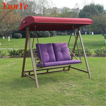 De Alta Calidad Al Aire Libre Muebles De Jardín Silla De Oscilación Al Aire Libre Columpio De Jardín Cama De 3 Plazas Jardín Asiento De Mimbre De Ocio
