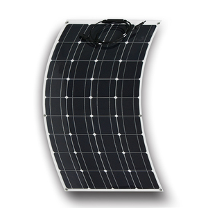 Semi flexible solar panel Only 2mm thickness 100w 300w flexible