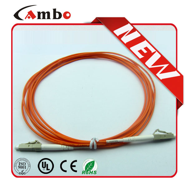 Telcom Level LC-LC MM duplex Optic fiber patchcord