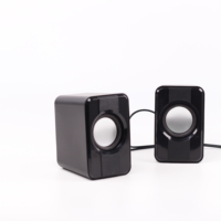 Chinese Products New Mini Wired Speaker Laptop Usb 2.0 Speaker