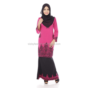 Newest wholesale baju kurung women muslim clothing islamic clothing indian