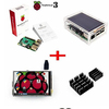 Factory Outlets wholesale Raspberry Pi 3 Model B + 3.5 Inch Raspberry LCD TFT + Acrylic Case + Heat sinks For Raspberry Pi 3 Kit