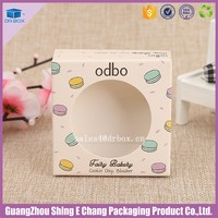 Eyeshadow Makeup Paper Box Palette Box/ Empty Eye Shadow Packaging Box/ Cosmetic Paper Box with Mirror