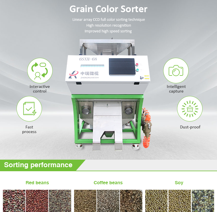 Excellent Quality Electronic Large Cashew Nuts Color Sorter For Sale by manufacturer