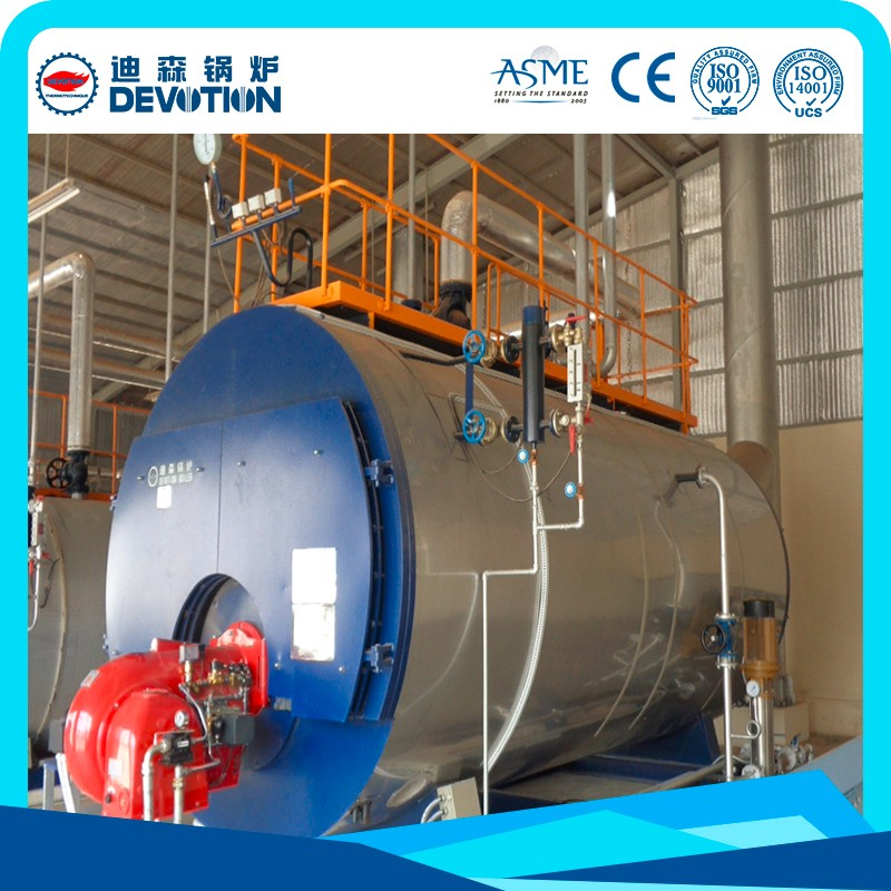 Industrial boiler system gas oil fuel fired steam boiler