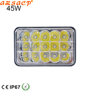 7'' 45w led work light 12v led lamp hid driving light