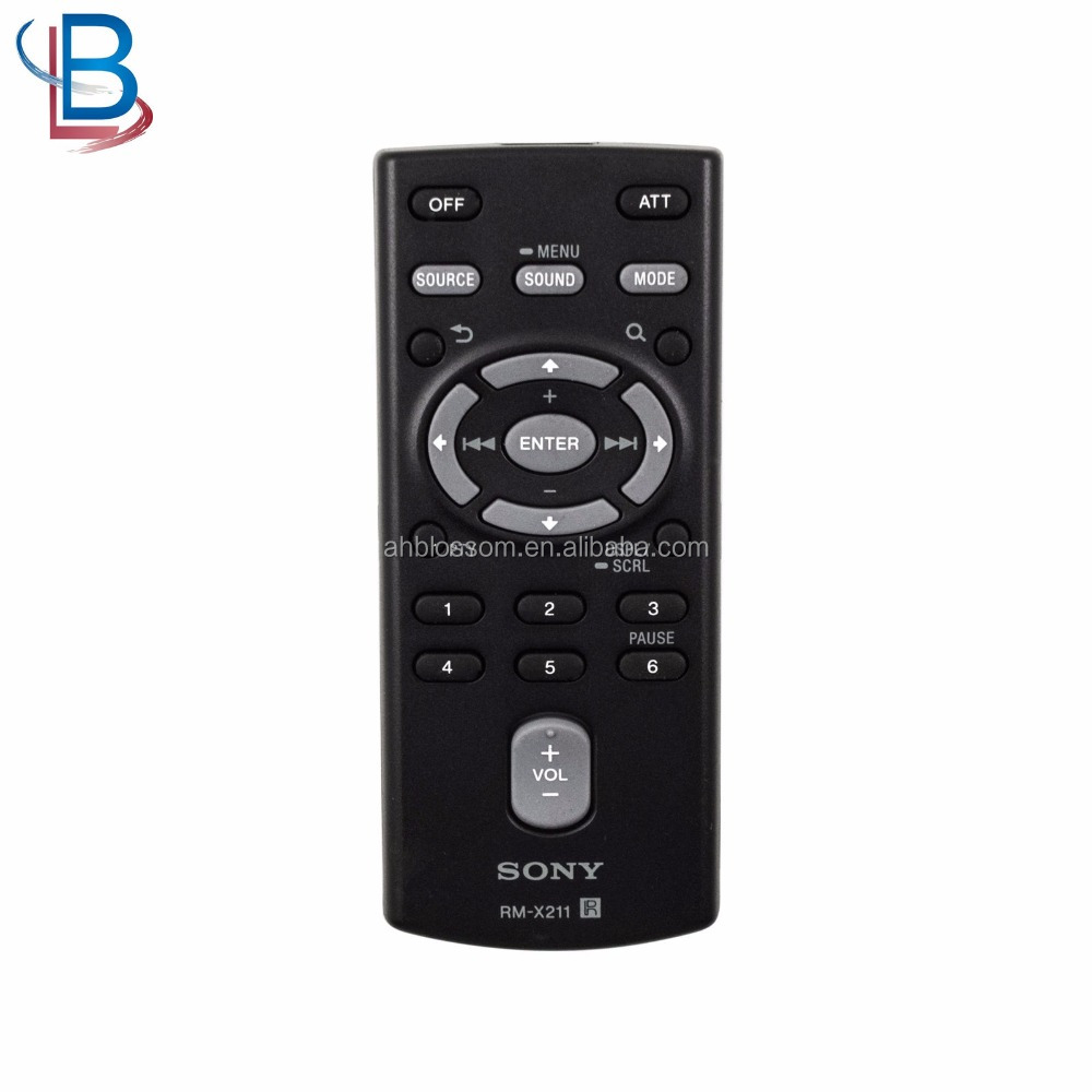New OEM Tv remote control for Sony MEX-GS610BT Car audio 1-489-810-42