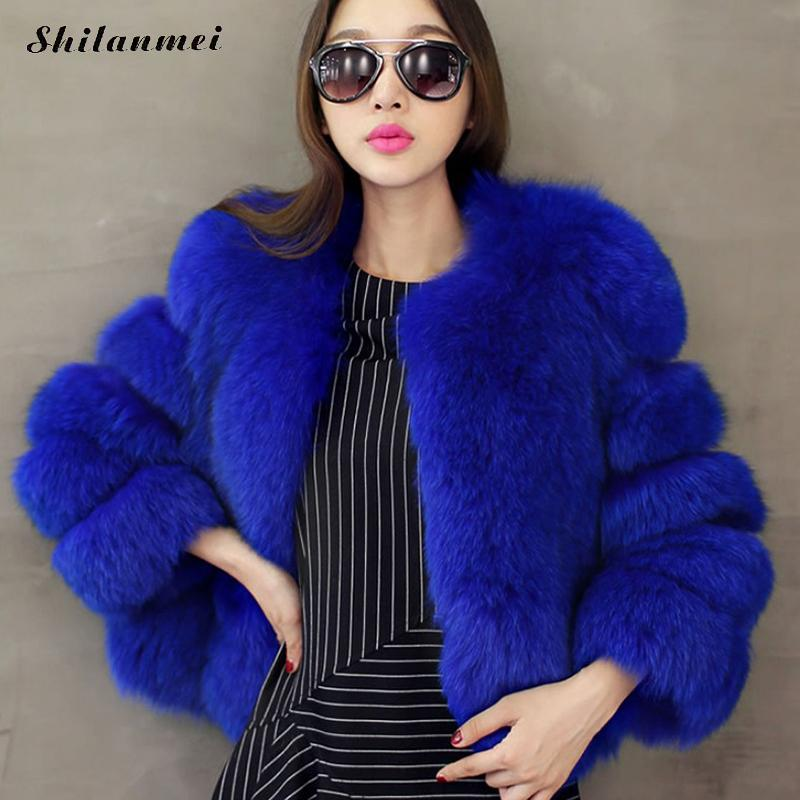 Faux Fur Jackets & Coats Loyal New Winter Bridal Wedding Dress Outwear European Faux Fox Fur Short Coats Slim Fit Warm Capes Overcoat Elegant Lady Furry Coats In Many Styles