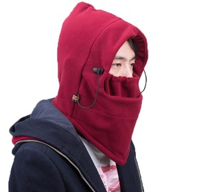 Colored Polar Fleece Balaclava Custom Printed Ski Mask For Winter