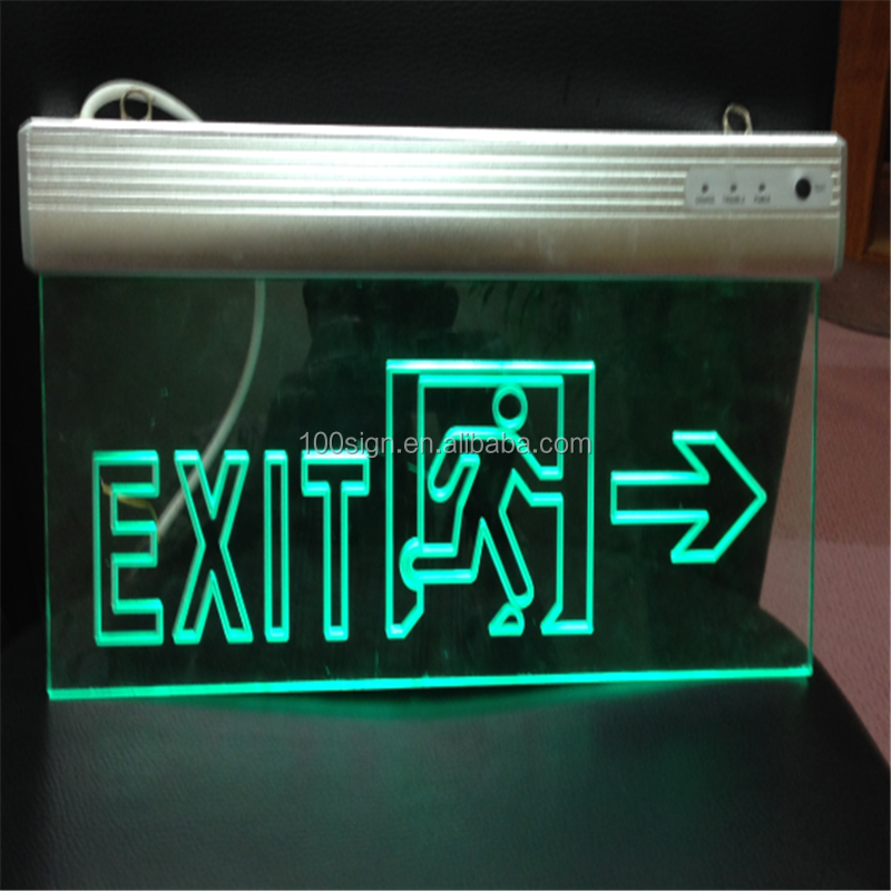 Wall Mounted Led Exit Sign