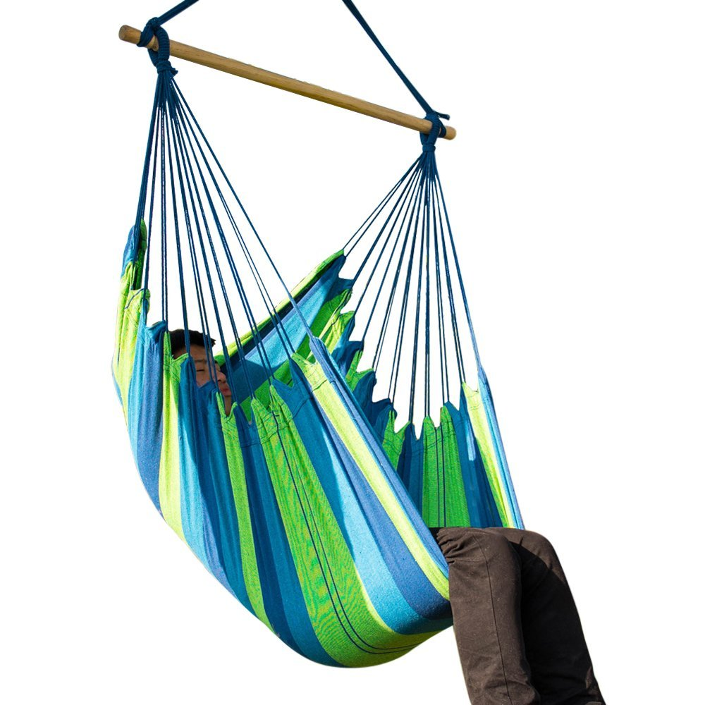Buy Cctro Hanging Hammock Chair Rope Chair Porch Swing Seat Large Brazilian Hammock Net Chair Porch Chair For Yard Bedroom Patio Porch Indoor Outdoor Extra Long Bed In Cheap Price On